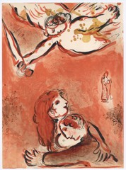 The Face Of Israel Marc Chagall