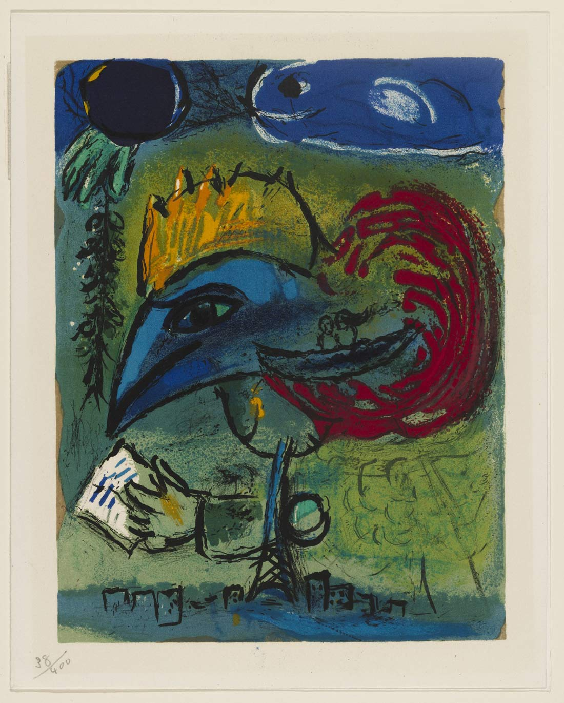New Years Card Marc Chagall