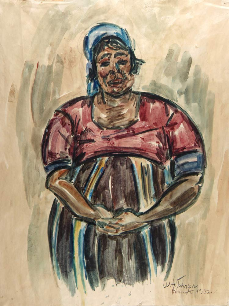 Arab Woman, Kairouan William H Johnson