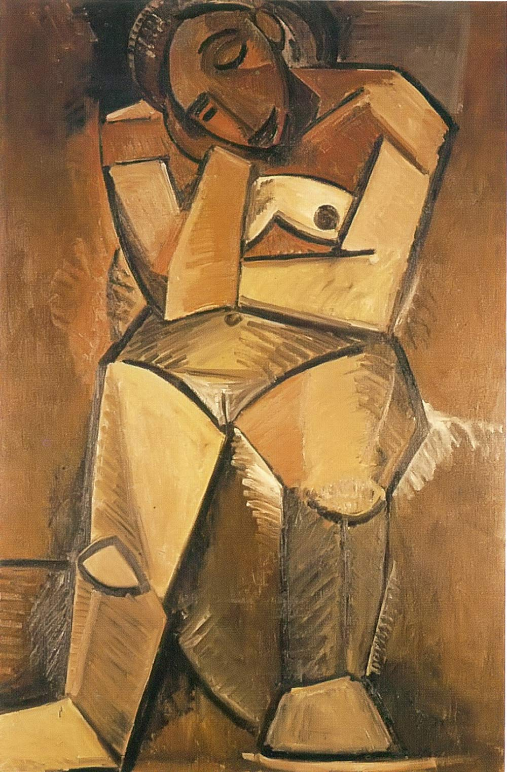 Seated Woman Pablo Picasso