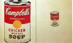 Campbell's Soup Cans 1962 by Andy Warhol