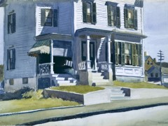 House On Middle Street Gloucester by Edward Hopper
