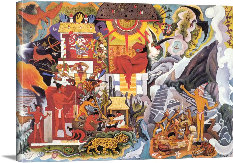 Pre Hispanic America by Diego Rivera
