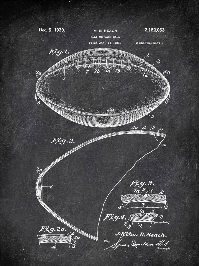 Play Or Game Ball M B Reach 1938 Activities by Patent