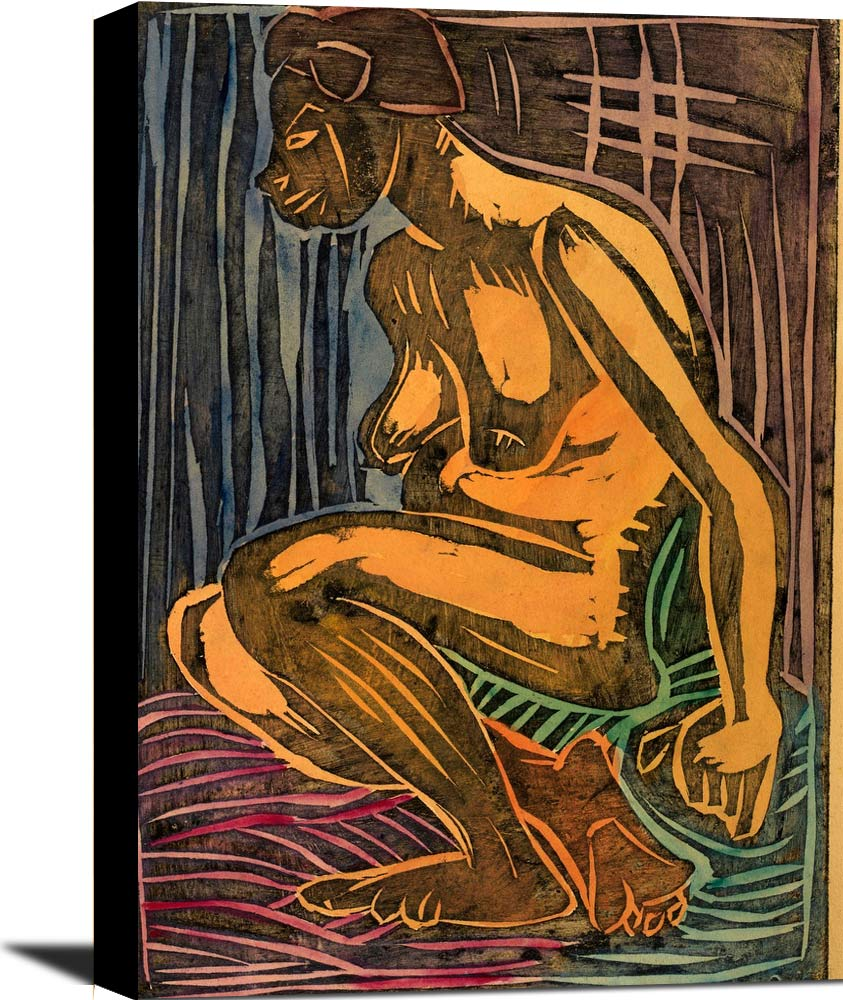 Seated Nude William H Johnson