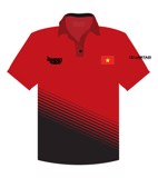 SGH Red Black Coach Polo Shirt