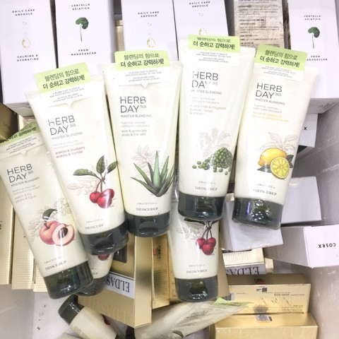Sữa Rửa Mặt The Face Shop Herb Day 365 Master Blending Foaming Cleanser 170ml