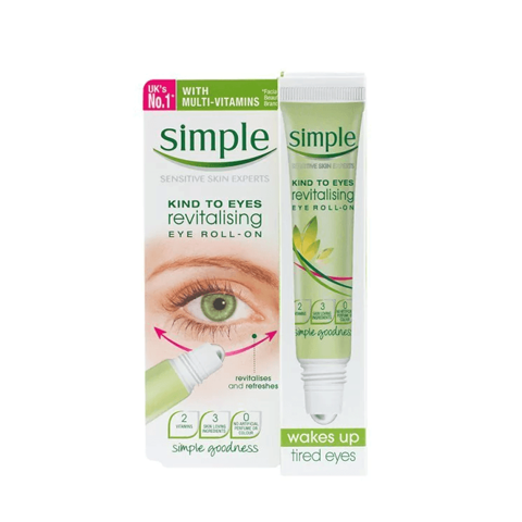 LĂN DƯỠNG MẮT SIMPLE KIND TO EYES REVITALISING EYE ROLL-ON Thương hiệu: Simple