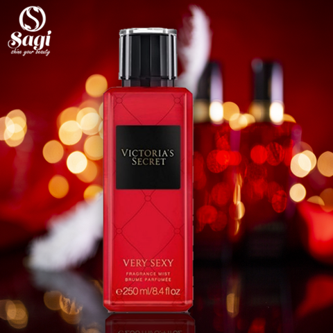 Xịt Thơm Victoria's Secret Very Sexy Fragrance Mist (250ml)  (K TĐ )