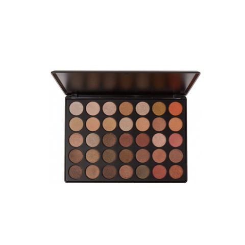 Bảng Phấn Mắt Morphe 35OS – 35 Color Shimmer Nature Glow Eyeshadow Palette