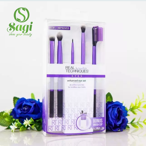 Bộ cọ Techniques Enhanced eye 5 cây