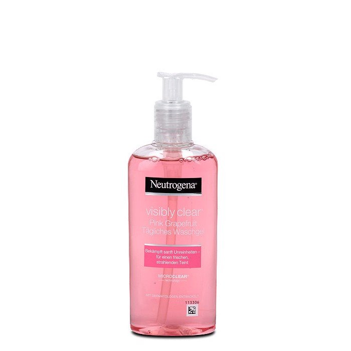 Sữa Rửa Mặt Neutrogena Visibly Clear Gel Nettoyant Pamplemousse Rose 200ml