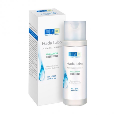 Dưỡng Ẩm Cho Da Hada Labo Advanced Nourish Hyaluron Lotion 170ml