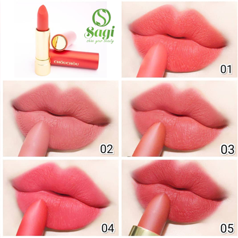 Son Chou Chou Signature Matt Rouge (đỏ)