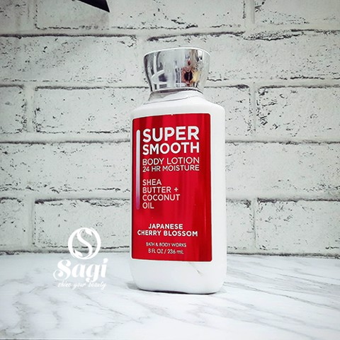 Sữa dưỡng thể Bath & Body Works Super Smooth Body Lotion 24hr Moisture