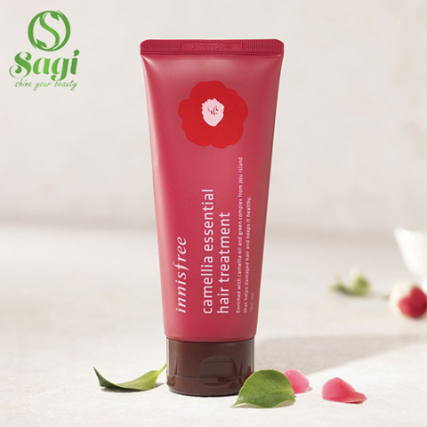 Kem Ủ Tóc Innisfree Camellia Essential Hair Treatment
