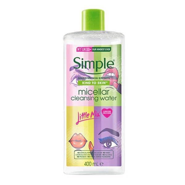 Nước Tẩy Trang Simple x Little Mix Micellar Cleansing Water Limited Edition 400ml