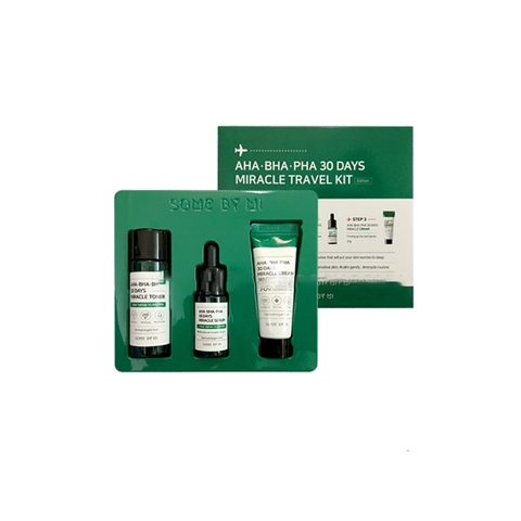 Bộ dưỡng da mini size Some By Mi AHA- BHA-PHA 30 Days Miracle Set