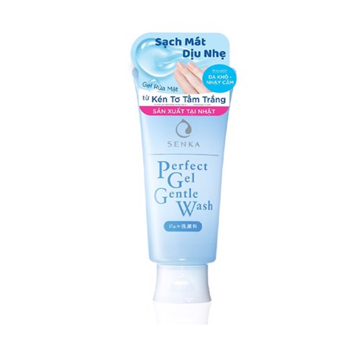 Gel Rửa Mặt Senka Perfect Gel Gentle Wash (100g)