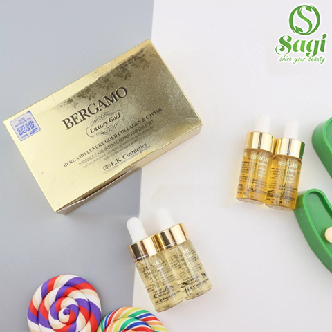 Tinh chất Serum Bergamo Luxury Gold Collagen & Caviar
