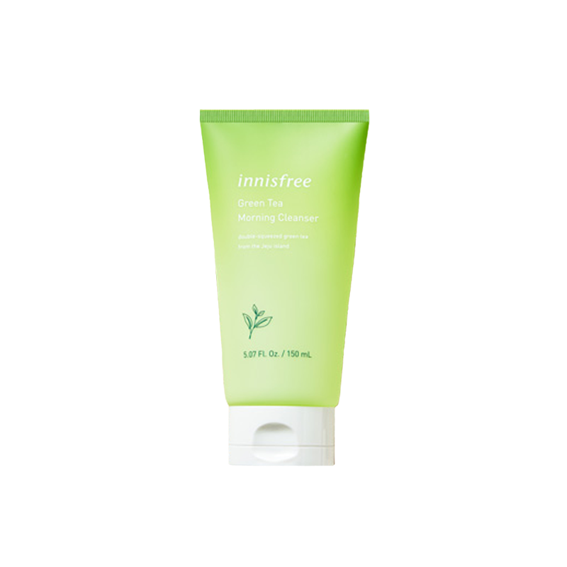 SRM Innisfree Green Tea Morning Cleanser Gel (2019)