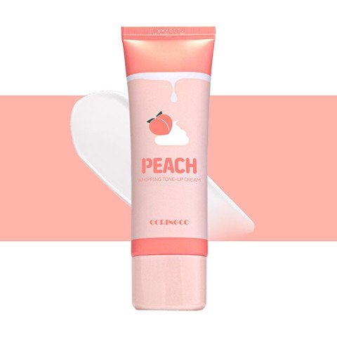 Kem Dưỡng Nâng Tone Da Coringco Peach Whipping Tone Up Cream - 50ml