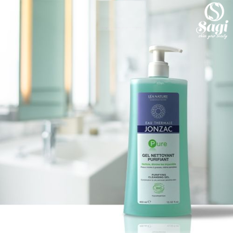 Gel rửa mặt Eau Thermale Jonzac Pure Purifying Cleansing Gel