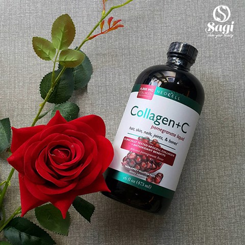 NƯỚC UỐNG BỔ SUNG NEOCELL COLLAGEN+C POMEGRANATE LIQUID 4000 MG