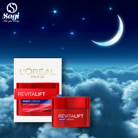 Kem dưỡng Loreal Revitalif 20ml -Night