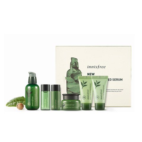 SET Innisfree Green Tea Seed (6item)