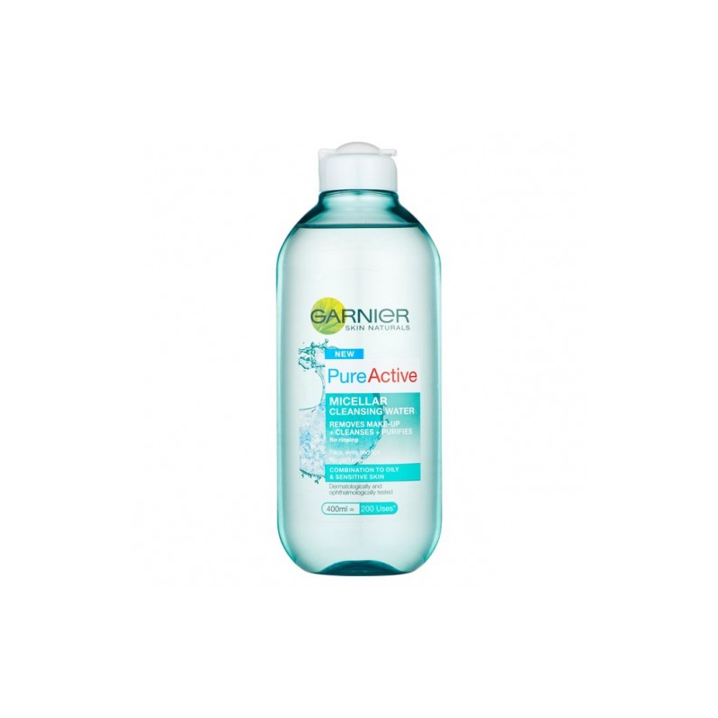 Tẩy trang  Garnier Pure Active Micellar Cleansing Water All-In-1 ( 400ml )