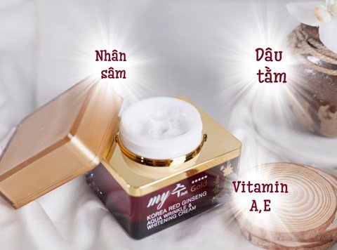 Kem Dưỡng My Gold Korea Red Ginseng White-Cream 50ml