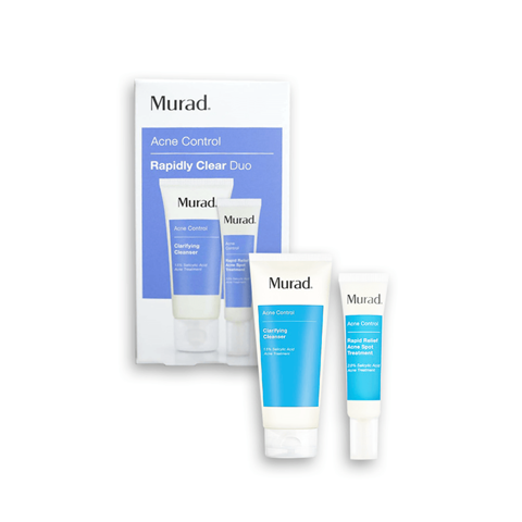 Set trị mụn Murad Acne Control Rapidly Clear Duo