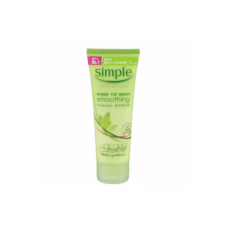 Tẩy Tế Bào Chết Simple Kind To Skin Smoothing Facial Scrub