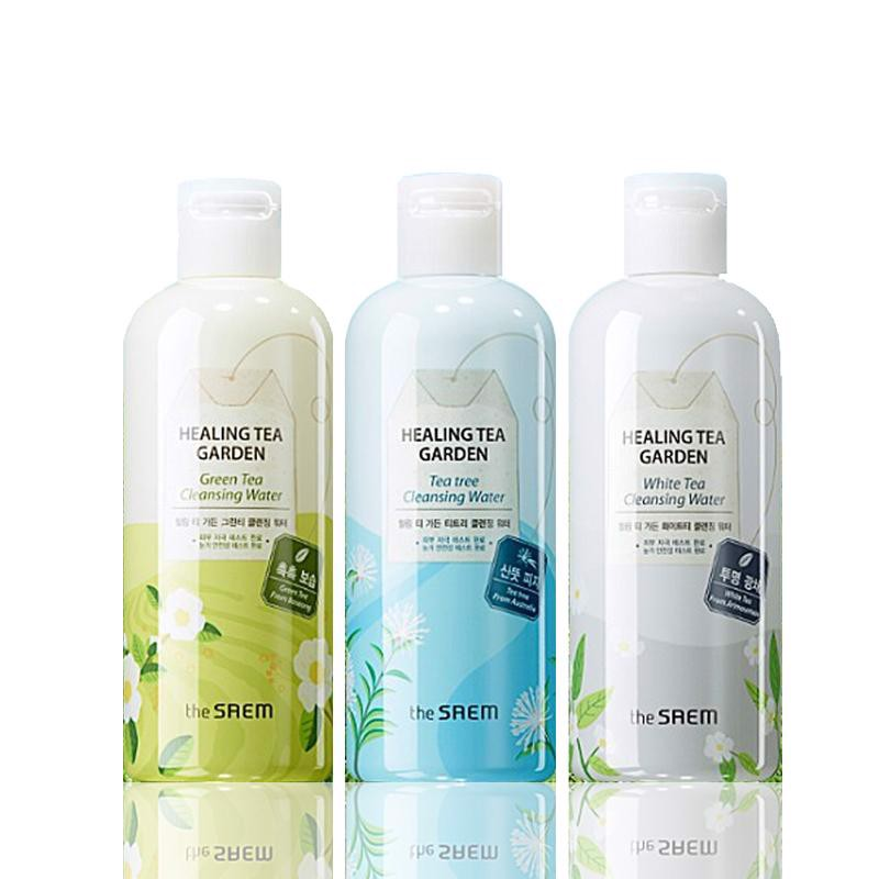 Nước Tẩy Trang The Saem Healing Tea Garden Cleansing Water 300ml