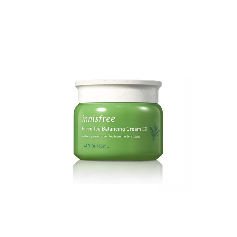 Kem Dưỡng Da Innisfree Green Tea Balancing Cream EX (2019)