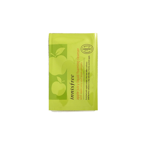 Sample Sữa Rửa Mặt Innisfree Apple Seed Deep Cleansing Foam 4ml