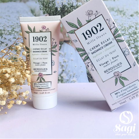 [.HOT] Kem Dưỡng Berdoues 1902 Mille Fleurs Radiance Cream 50ml