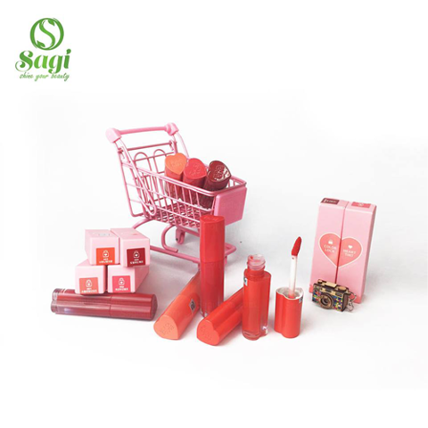 Son Kem  Black Rouge Color Lock Heart Tint