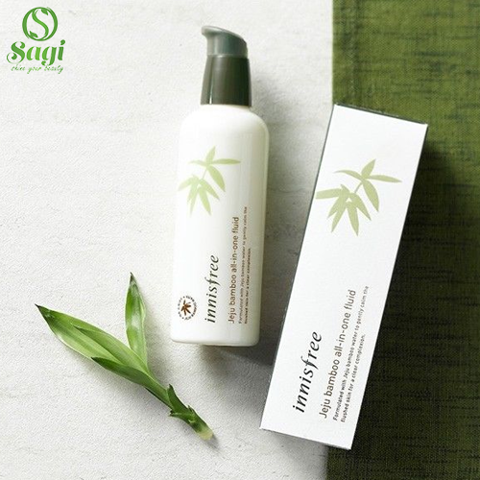 Gel dưỡng Innisfree bamboo all in one fluid 100ml (390k)