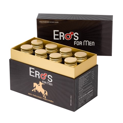 Eros For Men - Hộp 8 lọ 50ml