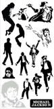 Michael jackson stickers