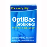 Optibac for daily wellbeing - Optibac xanh da trời.