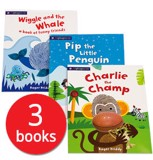 Alphaprints Picture Books Collection - bộ 3 cuốn sách