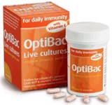 Optibac for daily immunity with C
