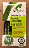Dr Organic Tea tree Pure Oil 10ml