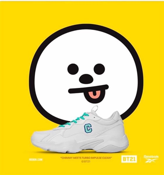 REEBOK X BT21 TURBO IMPULSE CLEAN 'CHIMMY' - FULL BOX