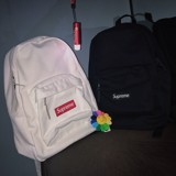 SUPREME FW20 CANVAS BACKPACK  - WHITE