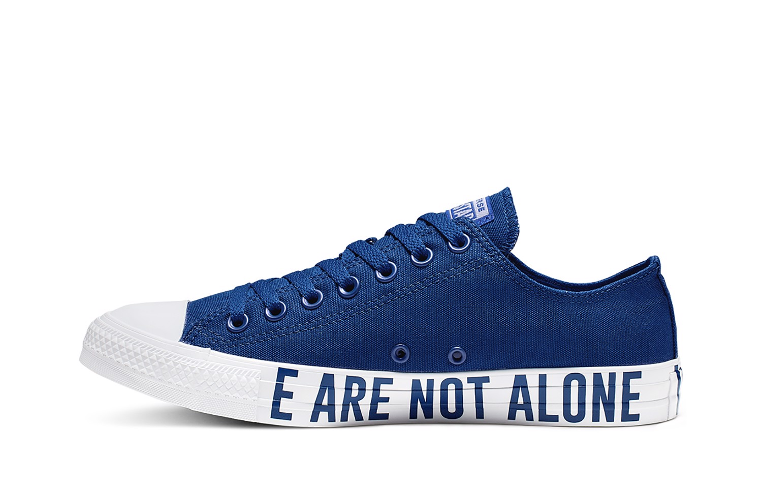 CONVERSE LOW BLUE We Are Not Alone 165383C
