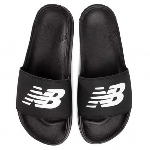 NEW BALANCE SLIPPERS | BLACK